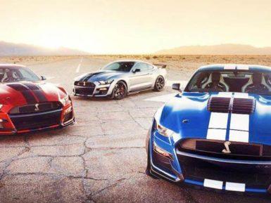 El potente Mustang Shelby GT500