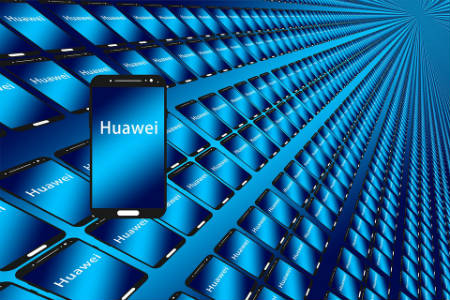 Compañía china Huawei