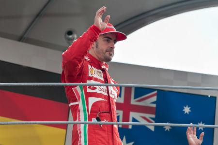 Fernando Alonso en la Formula 1