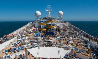 Vacaciones en un crucero