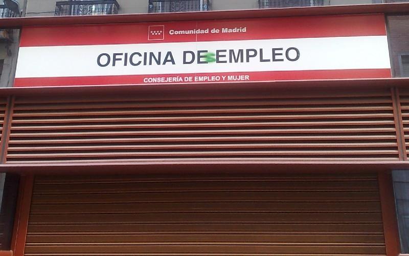 apuntarse y pedir el paro en Madrid