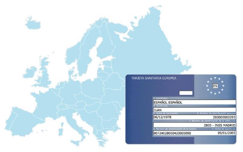 solicitar la Tarjeta Sanitaria Europea (TSE)