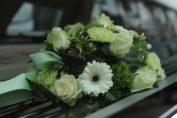 Flores para tanatorio
