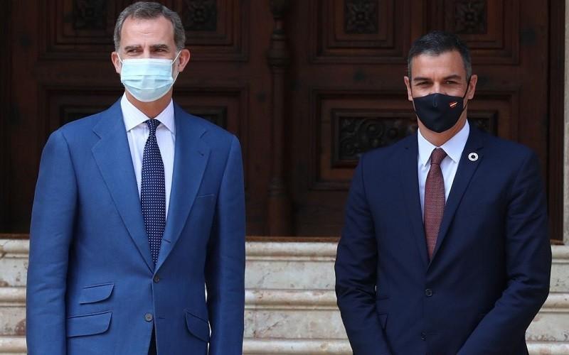 Sanchez y Felipe VI