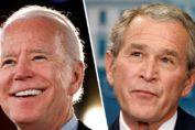 George Bush Joe Biden
