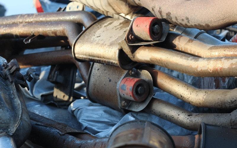 Importancia del catalizador de un coche