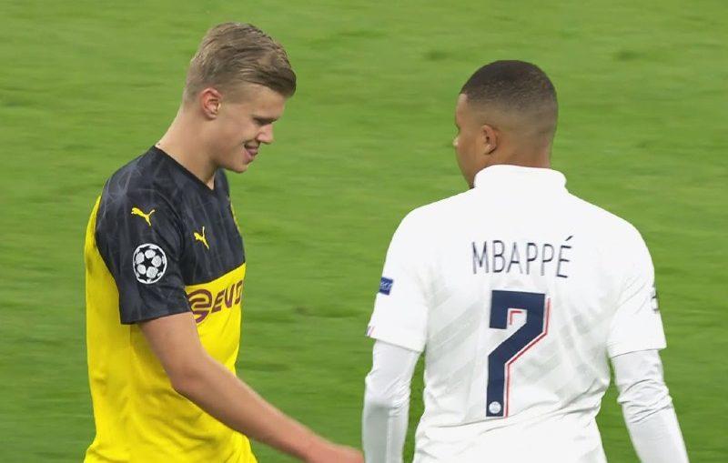 Mbappé vs Haaland