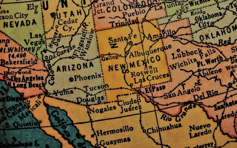 Mapa frontera