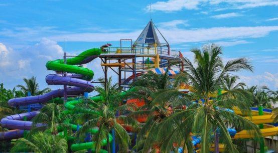 Parque acuático ideal para familias